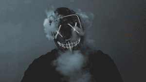 How To Disappear Man With Smoke Mask